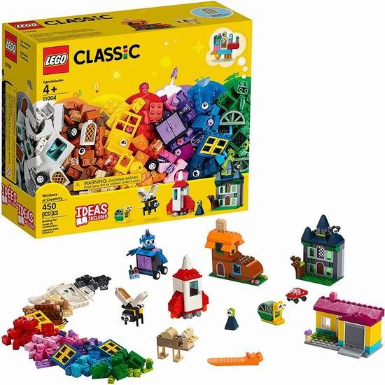 历史新低!LEGO 乐高 11004 积木经典拼搭创意之窗(450pcs) 29加元!