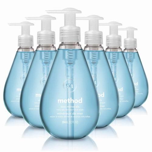 Method 海盐味洗碗精 12盎司 ×6瓶 16.93加元,原价 28加元