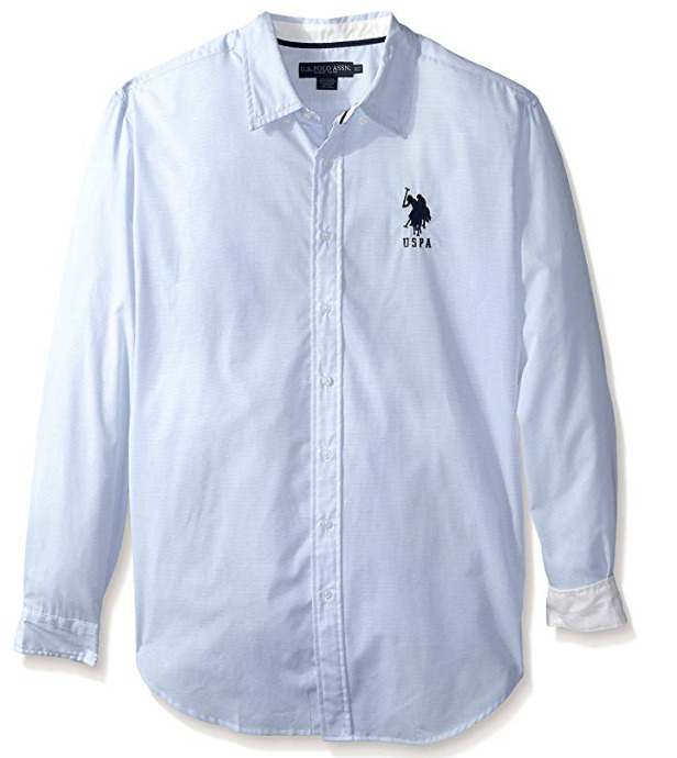 U.S. Polo Assn. Oxford男士衬衣 14.89加元,原价 45.26加元
