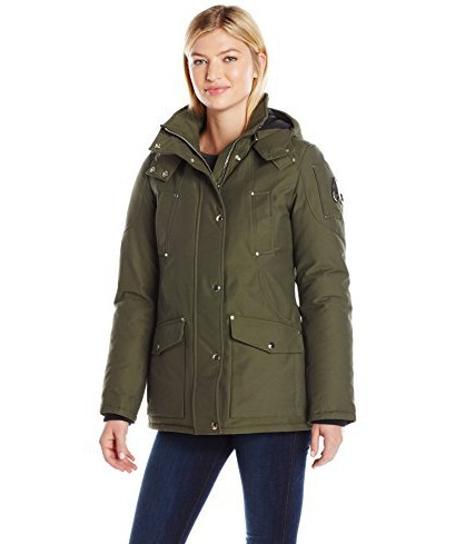Moose Knuckles Moosonee女士羽绒派克大衣 472.97加元(XL),原价 892.55加元,包邮