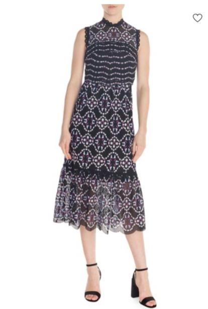 Sandro Inaya Midi女士连衣裙 4折 274加元(2号),原价 685加元,包邮
