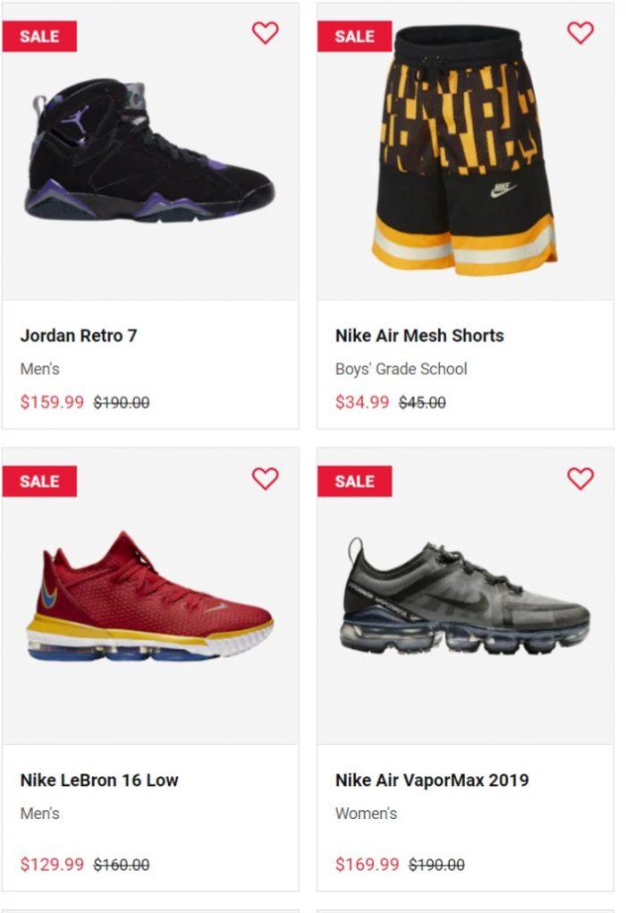 精选 Nike、Jordan 、adidas等品牌运动潮鞋 6折起+满100加元享受额外8折优惠!