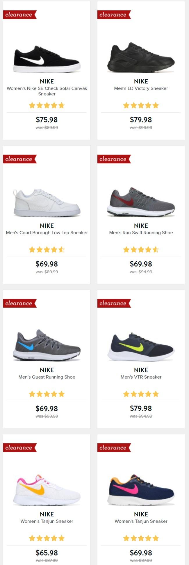 精选 Nike、 Vans、Clarks、Adidas 等品牌成人儿童鞋 3.8折起+额外8折优惠!
