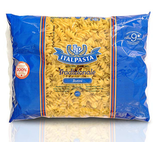 Italpasta Rotini意大利面 1.89加元,原价 2.99加元