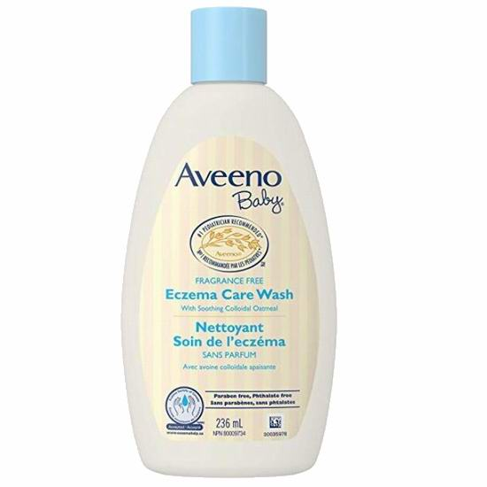 Aveeno Baby Eczema Care 宝宝湿疹护理沐浴乳236毫升 8.47加元