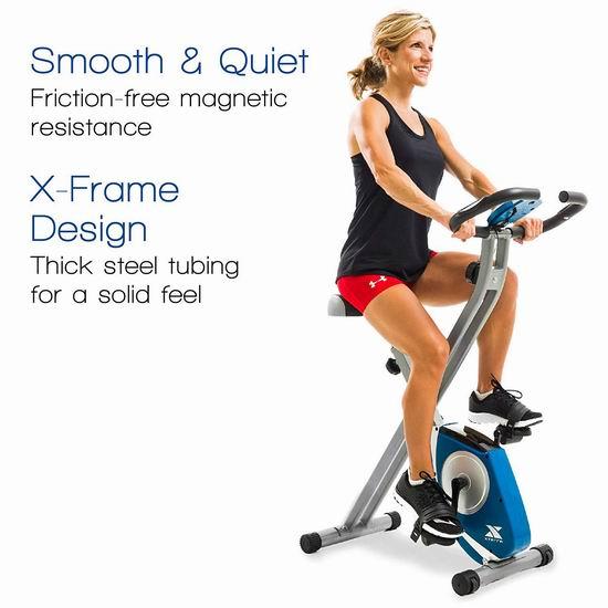 历史最低价!XTERRA Fitness FB150 可折叠健身自行车6.5折 138加元包邮!