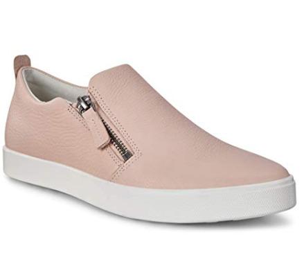 ECCO 爱步 Gillian 侧拉链休闲鞋 89.02加元(7-7.5码),原价 180加元,包邮