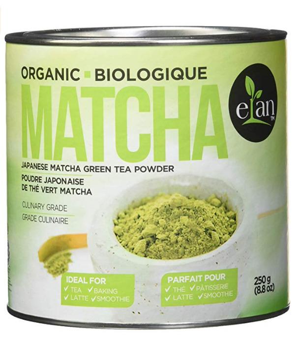 ELAN 无添加抹茶粉/绿茶粉250克  27.54加元