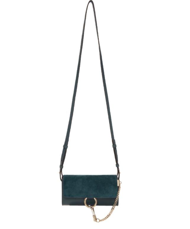 Chloé Faye 迷你斜挎包745-750加元(3色可选),原价 1035加元,包邮