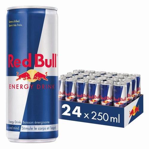 Red Bull 红牛能量饮料24罐×250毫升 44.92加元,原价 57加元,包邮