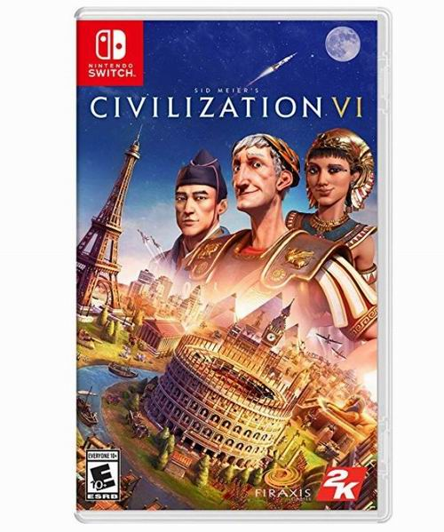 历史新低!《Sid Meier's Civilization VI 文明6》Nintendo Switch 游戏2.5折 19.99加元!
