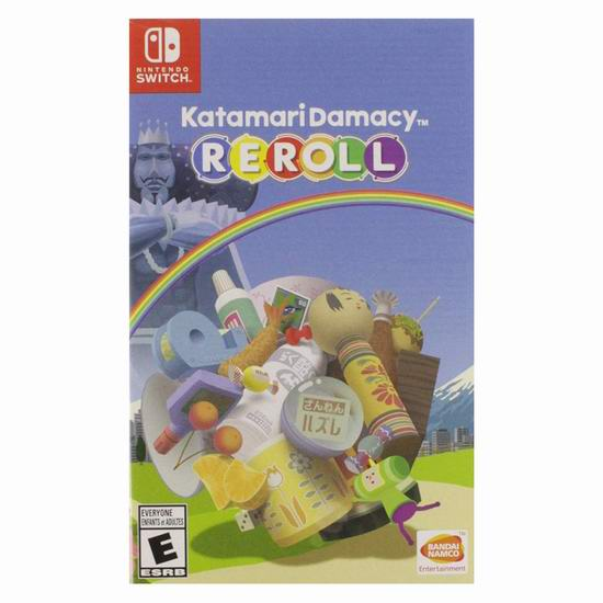 历史新低!《Namco Bandai Katamari Damacy 块魂 Reroll》Switch版游戏 24.99加元!