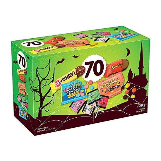 Hershey's 好时 巧克力糖果70支装 8.47加元!