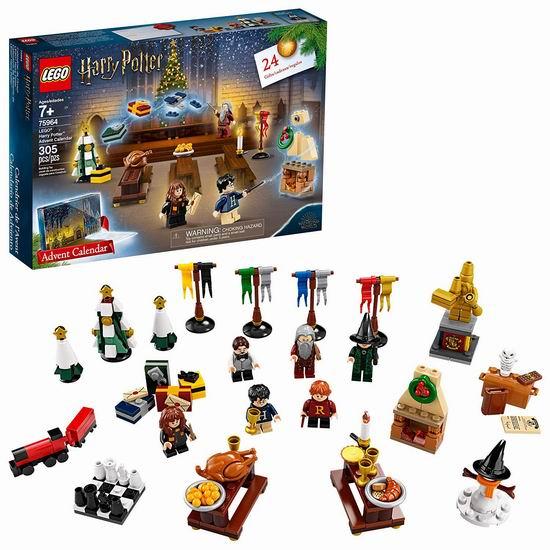 LEGO 乐高 75964 哈利波特圣诞倒数日历(305pcs)6折 30加元!