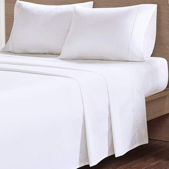 金盒头条:历史新低!Casa Platino 100%有机棉 Queen/King 床单4件套 47.99-55.99加元包邮!6色可选!