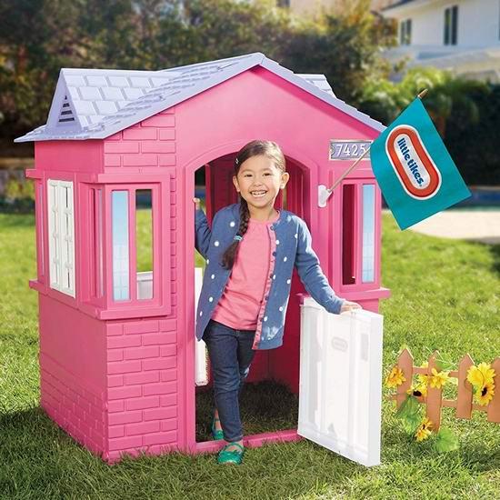 历史新低!Little Tikes 小泰克 Princess 公主儿童玩具生活小屋6.4折 109.97加元包邮!