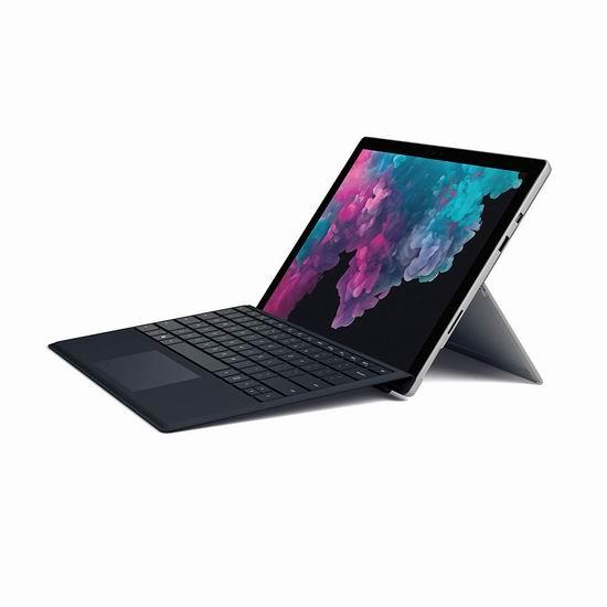 历史新低!最新款 Microsoft 微软 Surface Pro 6 12.3英寸平板电脑(Core i5, 8GB, 256GB)+键盘套装 1348.99加元包邮!
