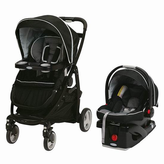历史最低价!Graco Modes Click Connect 豪华10合一 双向婴儿推车+婴儿提篮4.8折 329.99加元包邮!2色可选!