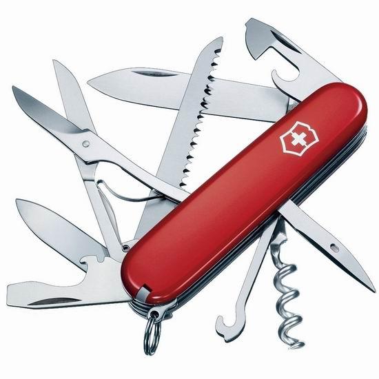 Victorinox Swiss 维氏正宗瑞士刀 15功能猎人口袋刀 38.22加元包邮!