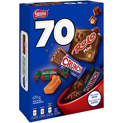 NESTLÉ 雀巢 巧克力糖果70支装 7.99加元!