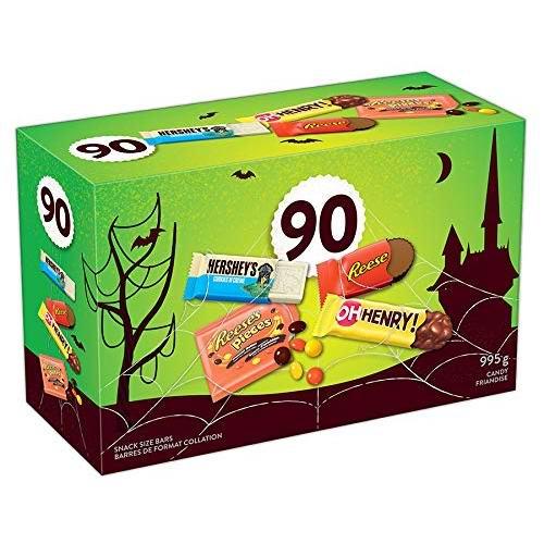 Hershey's 好时 巧克力糖果90支装 9.27加元!