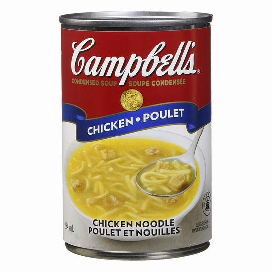 Campbell's 金宝汤 鸡汤面罐头284毫升 0.99加元