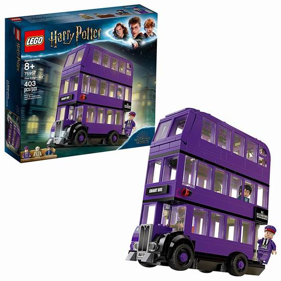 LEGO 乐高 75957 哈利波特 骑士巴士(403pcs) 39.97加元包邮!