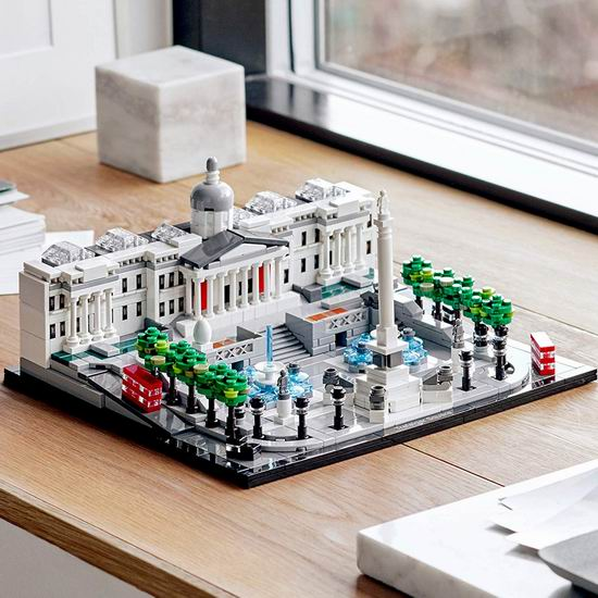 历史最低价!新品 LEGO 乐高 21045 建筑系列 特拉法加广场(1197pcs) 79.99加元包邮!