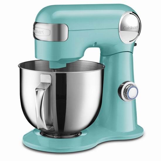 黑五价!历史新低!Cuisinart 美膳雅 SM-50TQC 5.2升 立式多功能搅拌机/厨师机4.7折 189.99加元包邮!
