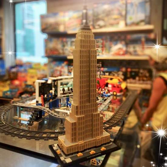 Lego 乐高 21046 建筑系列 帝国大厦(1767pcs) 139.99加元包邮!