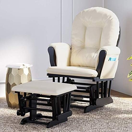 销量冠军!Storkcraft Hoop 实木哺乳椅/育婴椅/软垫躺椅 199.98加元包邮!