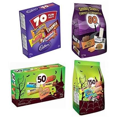 金盒头条:精选多款万圣节巧克力糖果超值装5.06加元起!