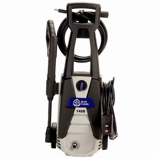 历史新低!AR Blue Clean AR142S 1400 PSI 家用电动高压清洗机5.4折 84.22加元包邮!