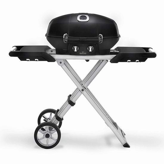 历史新低!Napoleon TravelQ 便携式专业燃气BBQ烧烤炉5.3折 336.75加元包邮!