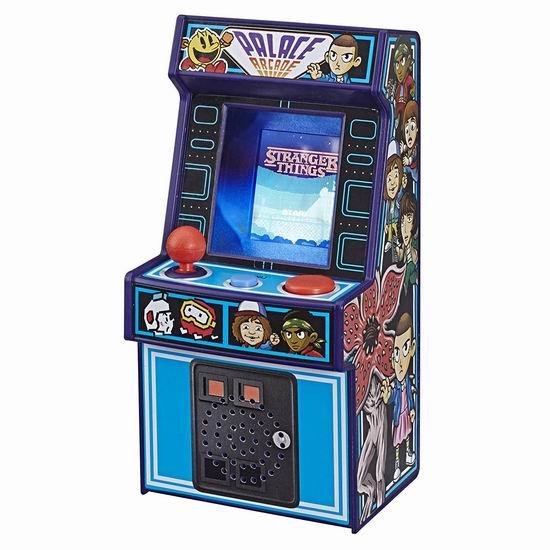 历史新低!Hasbro 孩之宝 Stranger Things Palace Arcade 20合一复古游戏机 迷你街机 29.97加元!