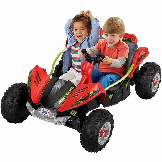 Power Wheels Dune 儿童双人座 越野电动车 280.08加元包邮!