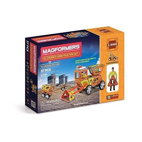 历史最低价!Magformers XL Cruisers 益智磁力积木37件套4.2折 39.97加元包邮!