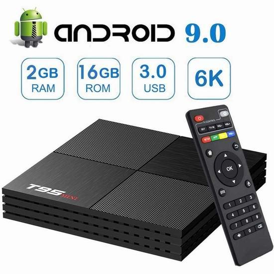 EASYTONE T95MINI 网络电视机顶盒(2GB/16GB) 37.39加元包邮!