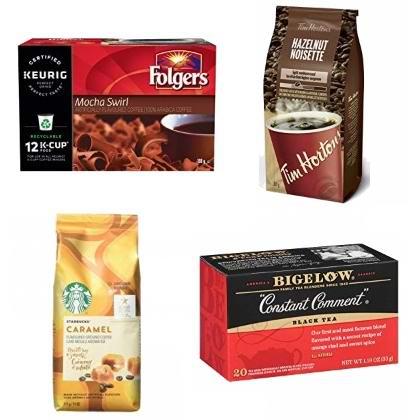 金盒头条:精选 Starbucks、Tim Hortons、Folgers 等品牌咖啡、咖啡胶囊、茶饮、热巧克力等6.2折起!