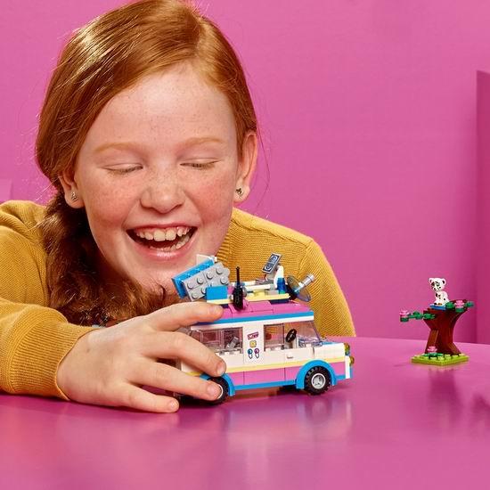 LEGO 乐高 41333 好朋友系列 奥莉薇亚的科学任务车(223pcs)6.9折 17.38加元!_加拿大打折网