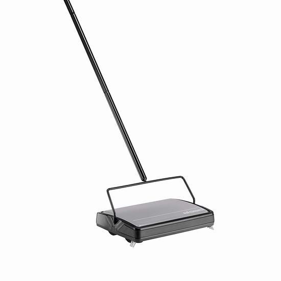历史最低价!Bissell 必胜 2483C Sturdy Sweep 地板/地毯 无绳手动扫地机4.8折 19.99加元!