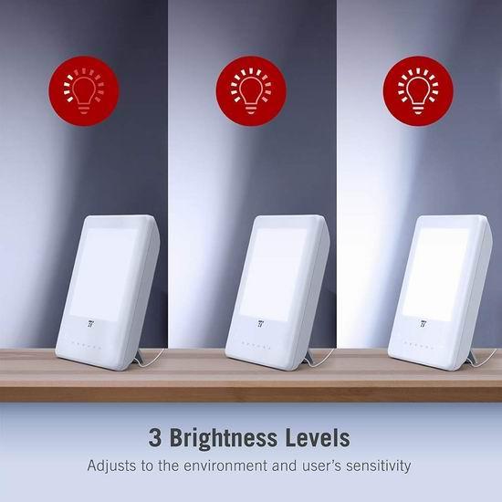 TaoTronics TT-CL011 10000 Lux 光疗情绪 光疗能量灯 34.99加元包邮!免税!