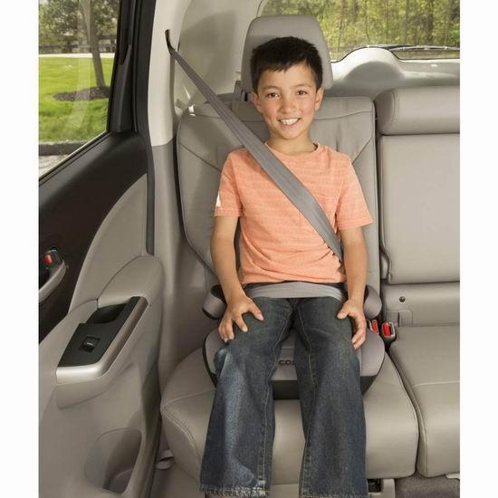 Cosco High 儿童汽车安全座椅 19.97加元!2色可选!