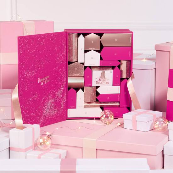 新品 Lancome 兰蔻 2019圣诞倒数日历24件套(价值580加元)199加元包邮!送价值142加元7件套大礼包+根源补养3件套!