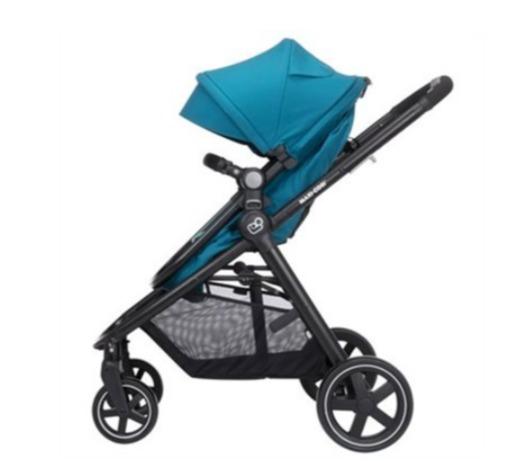 宝妈必备!Maxi-Cosi Zelia 5 合1 模块化旅行系统婴儿车+提篮式安全座椅 6折 359.97加元(599.95加元)+包邮!4色可选!