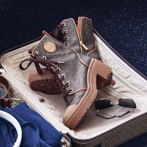 MICHAEL KORS折扣区皮质运动鞋、平底鞋、凉拖、高跟鞋 4折起+包邮!