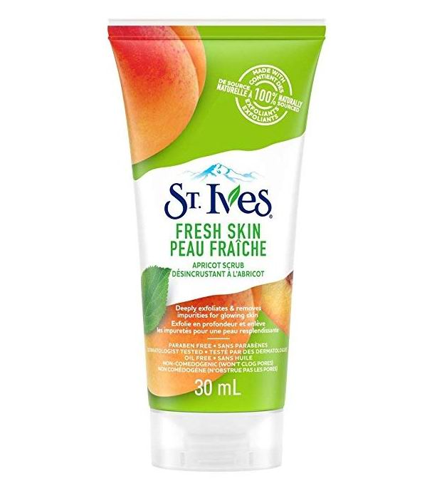 St. Ives 去角质磨砂膏 1.49加元(30ml),获美国专业杂志ALLURE最佳去角质产品最高奖!