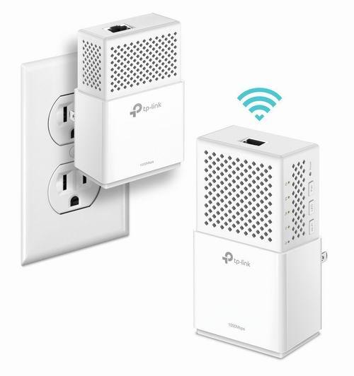 历史最低价!TP-Link TL-WPA7510 电力线WiFi扩展器 79.99加元包邮!
