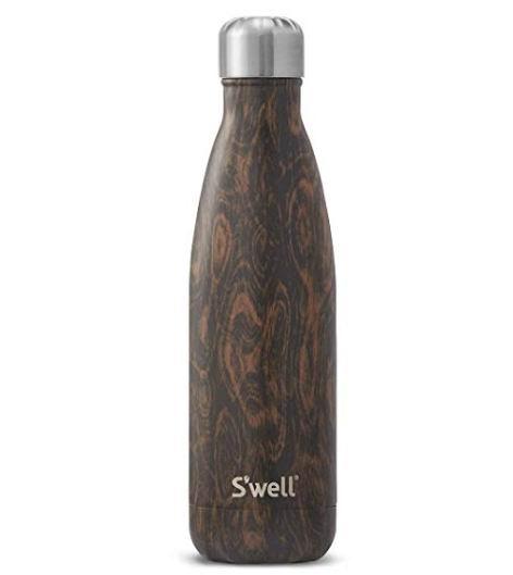 S'well 木纹空绝缘不锈钢水瓶17盎司 29.98加元,原价 44.95加元