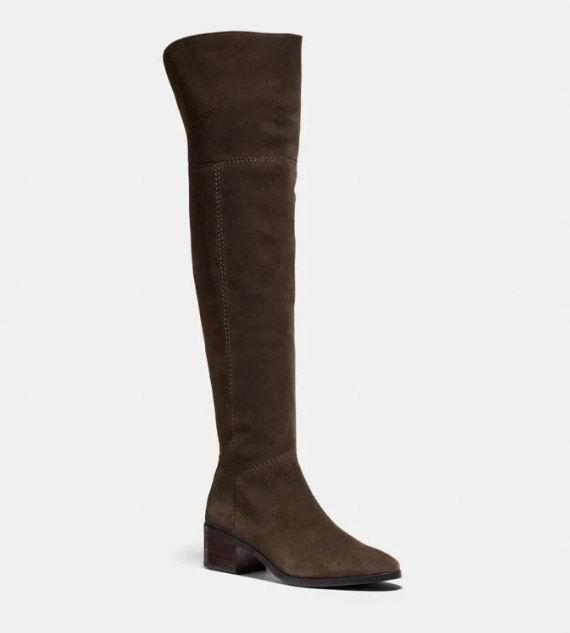 Coach Lucia 显腿长 过膝靴 297.5加元(6码),原价 575加元,包邮